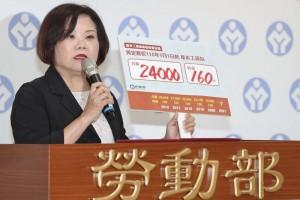 Đài Loan điều chỉnh mức lương cơ bản tăng lên 24.000 Đài tệ/tháng