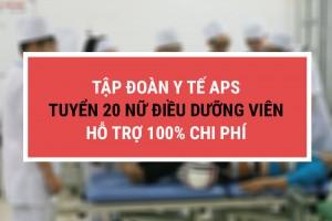 Tập đoàn y tế APS tuyển 20 điều dưỡng viên làm việc tại Nhật, hỗ trợ 100% chi phí